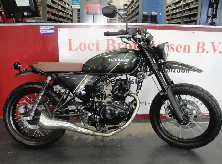 Hanway Scrambler 50 en 125cc