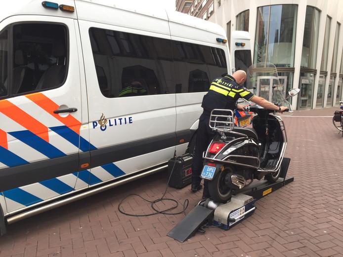 Veel voorkomende scooter boetes in 2018