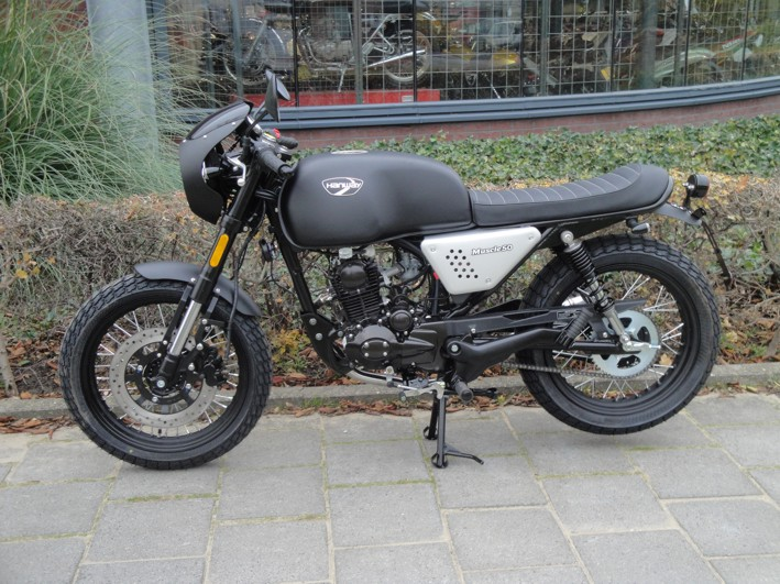 Hanway raw 50 caferacer